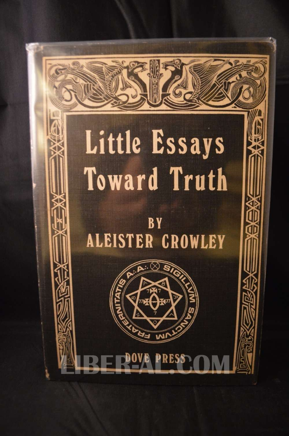 Aleister crowley little essays towards truth indian culture college essay