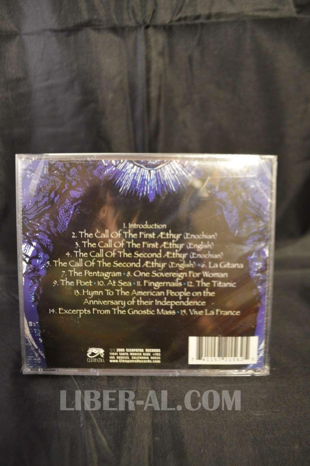 ALEISTER CROWLEY: 1910-1914 BLACK MAGIC RECORDINGS (CD)