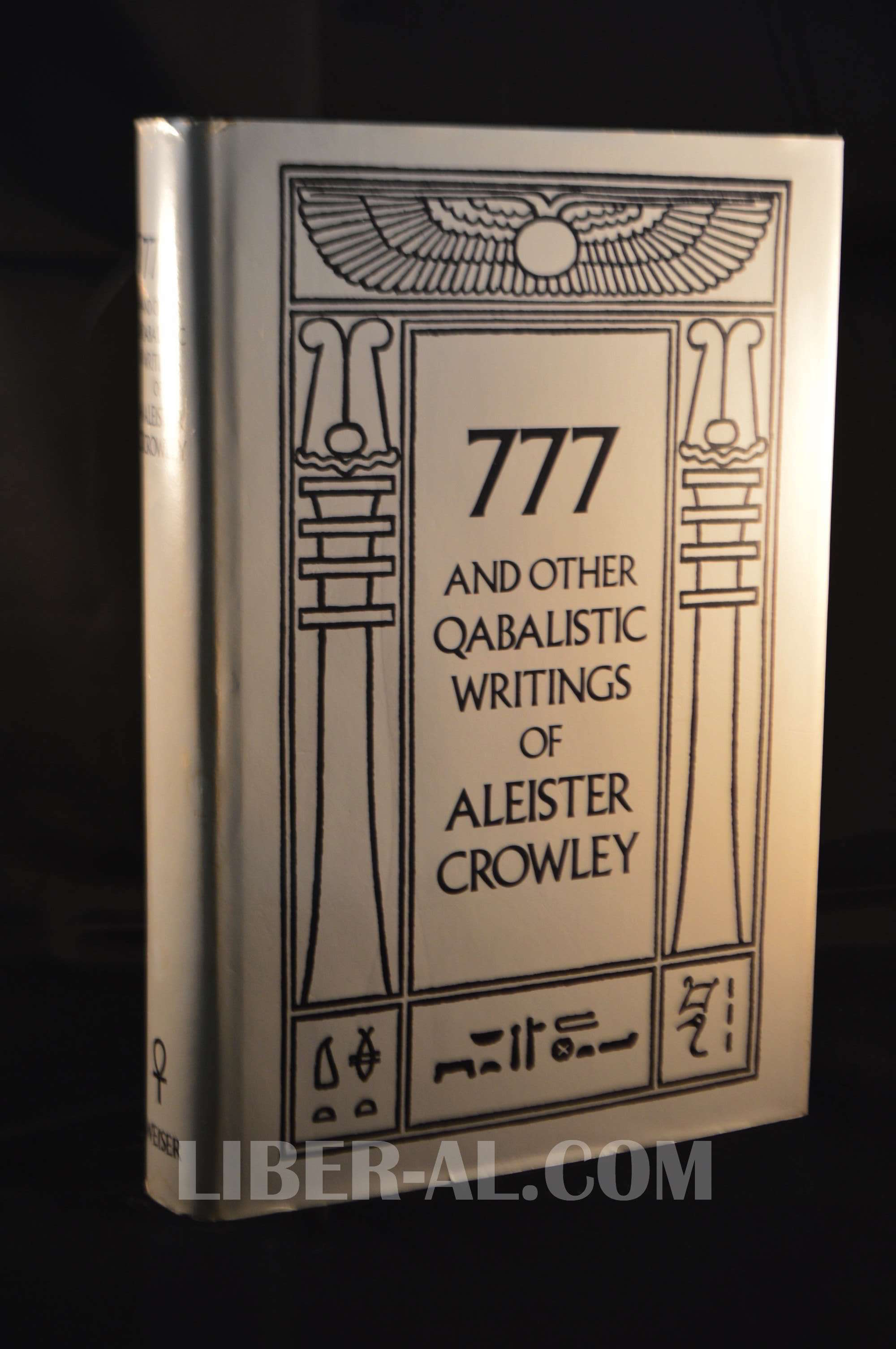 777 AND OTHER QABALISTIC WRITINGS OF ALEISTER CROWLEY INCLUDING GEMATRIA &  SEPHER SEPHIROTH (1973)