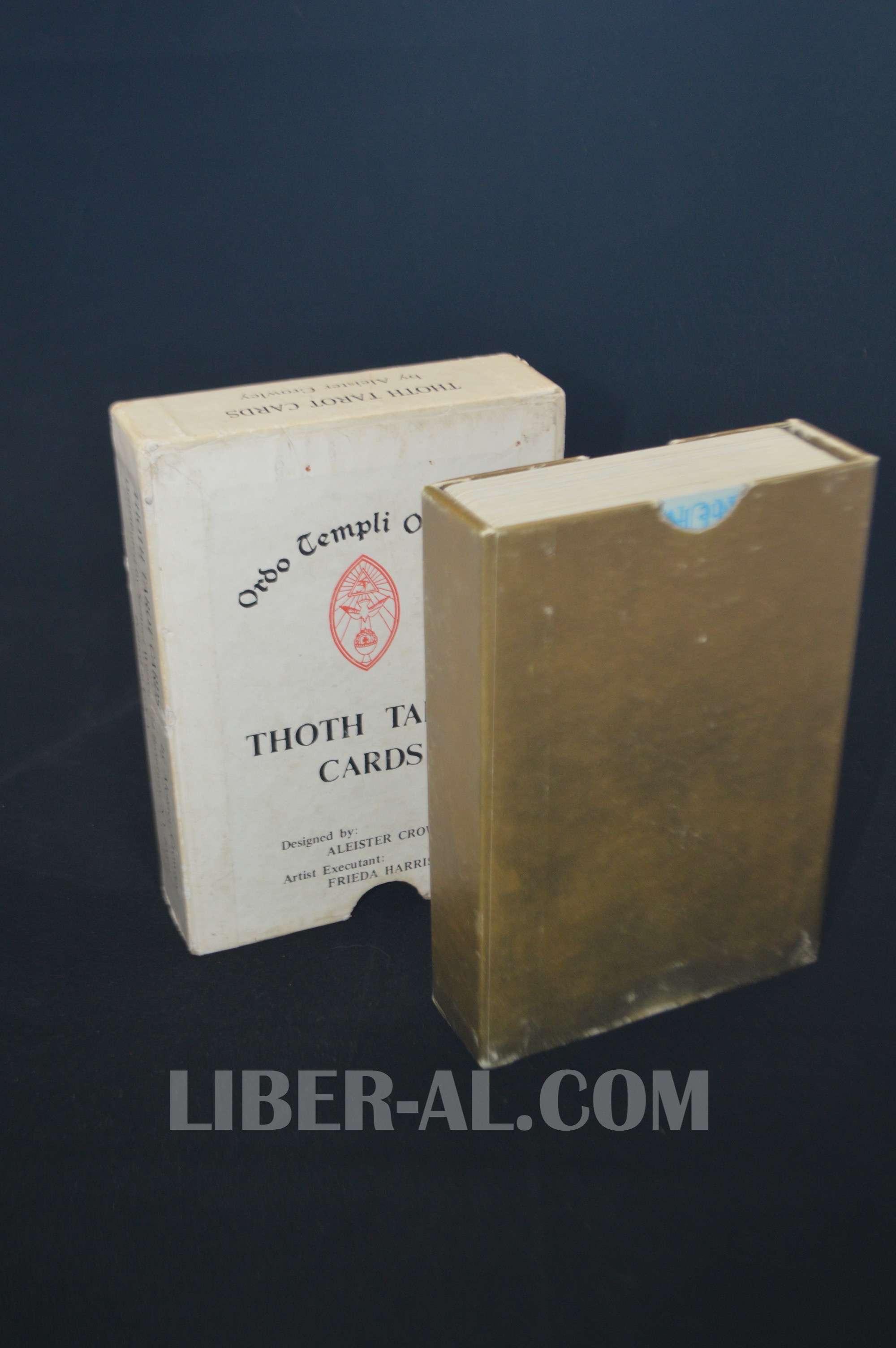 "VINTAGE THOTH TAROT CARDS – ""WHITE BOX B"" CIRCA 1969"