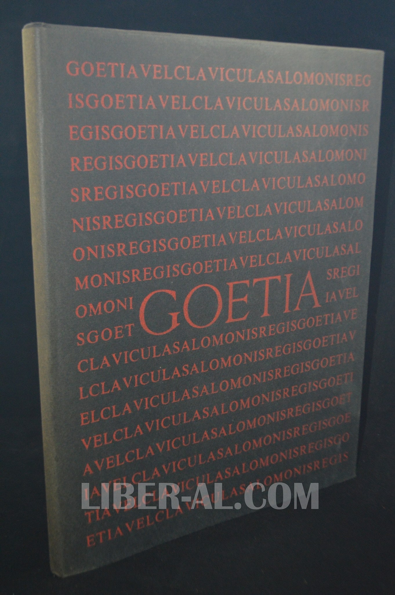THE BOOK OF THE GOETIA OF SOLOMON THE KING (1976 EQUINOX EDITION)