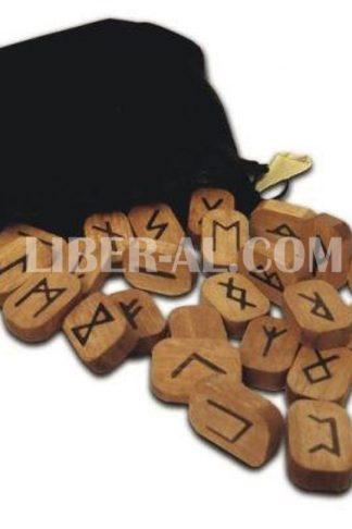 Wooden Runes (Lo Scarabeo)