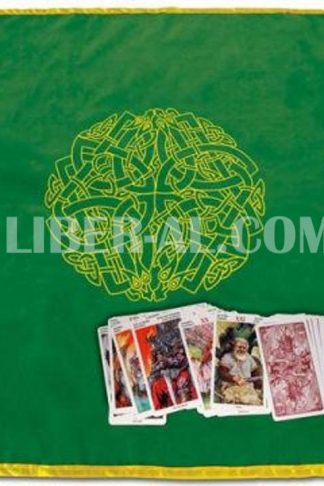 Celtic Labyrinth Velvet Tarot Cloth