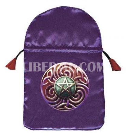 Magic Star Satin Tarot Bag