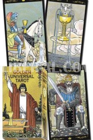 Golden Universal Tarot Deck (Lo Scarabeo Decks)