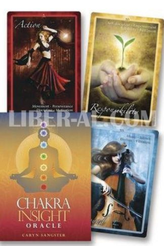 Chakra Insight Oracle: A Transformative 49-Card Deck