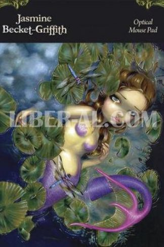 Dragonfly Mermaid Optical Mouse Pad