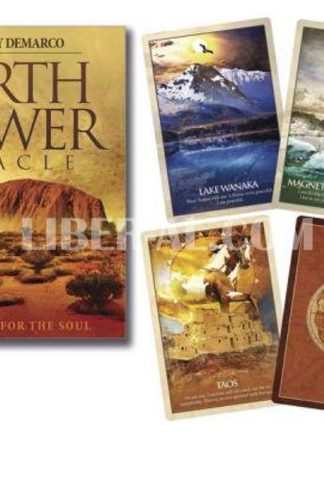 Earth Power Oracle: An Atlas for the Soul (Cards W/Book)