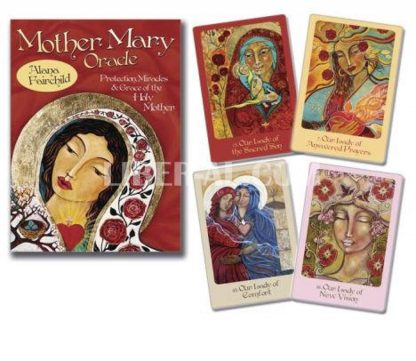 Mother Mary Oracle: Protection Miracles & Grace of the Holy Mother (Cards W/ Book)