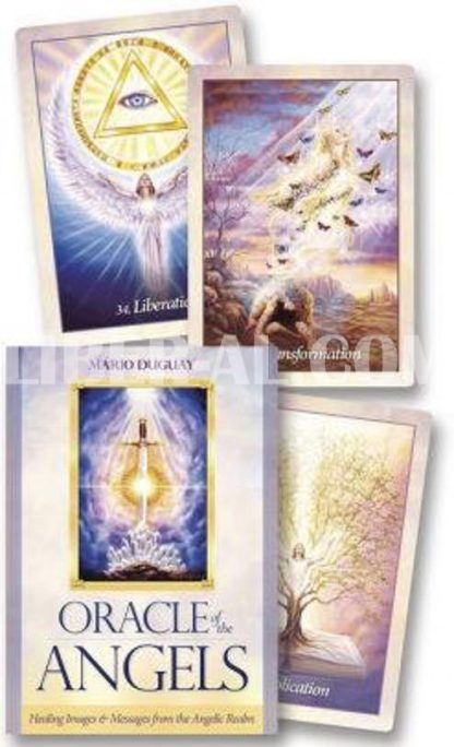 Oracle of the Angels: Healing Messages from the Angelic Realm (Cards W/Book)